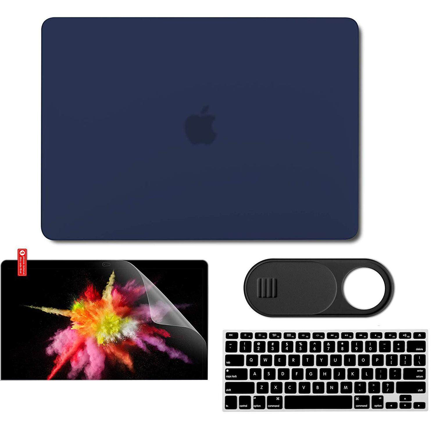 MacBook Air 13 Inch (Models: A1369 & A1466, Older Version 2010-2017 Release) Plastic Hard Case & Keyboard Cover & (Offer a variety of selection of accessories)