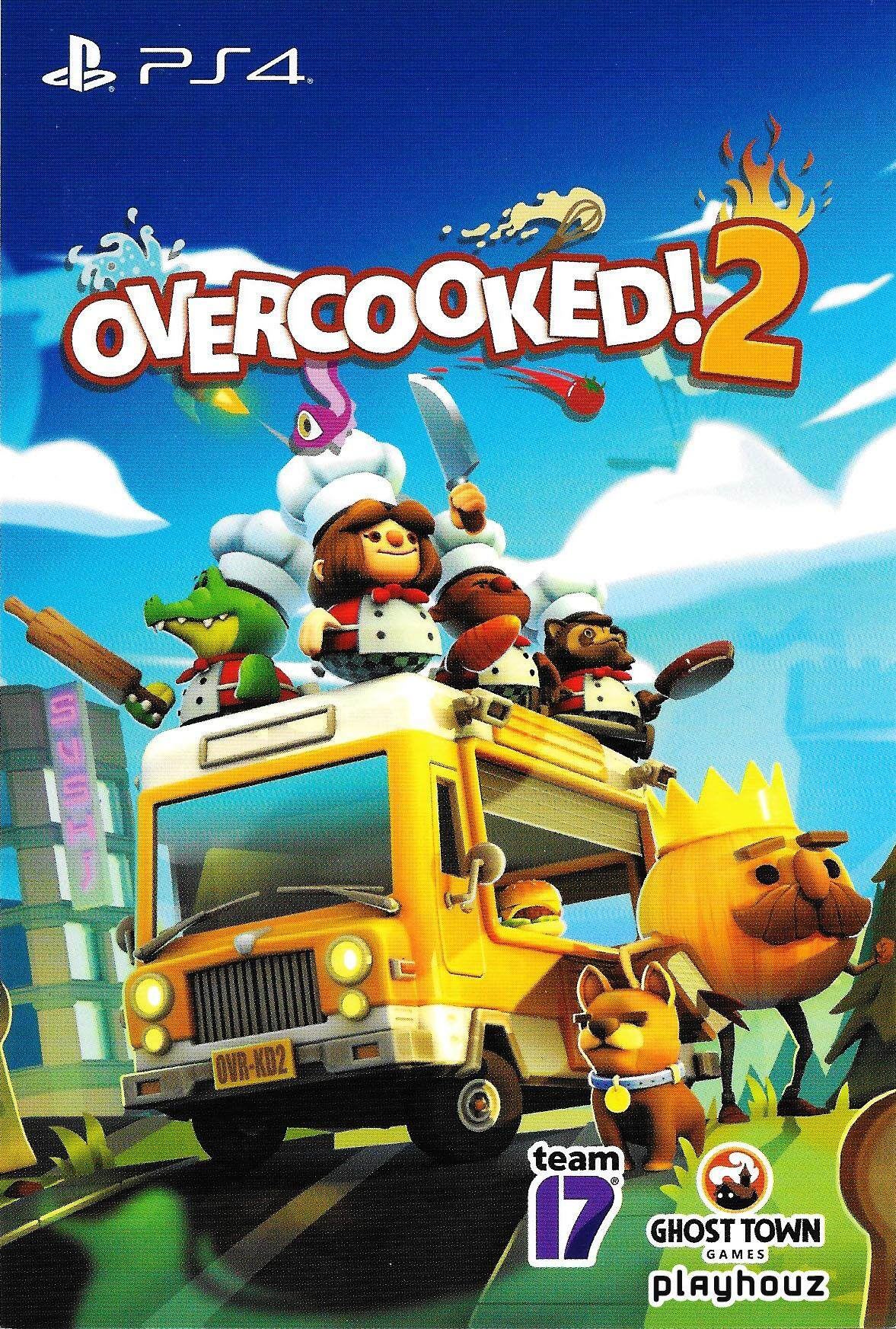 PS4 OVERCOOKED 2 [R3] Eng/Chi (Digital Code)