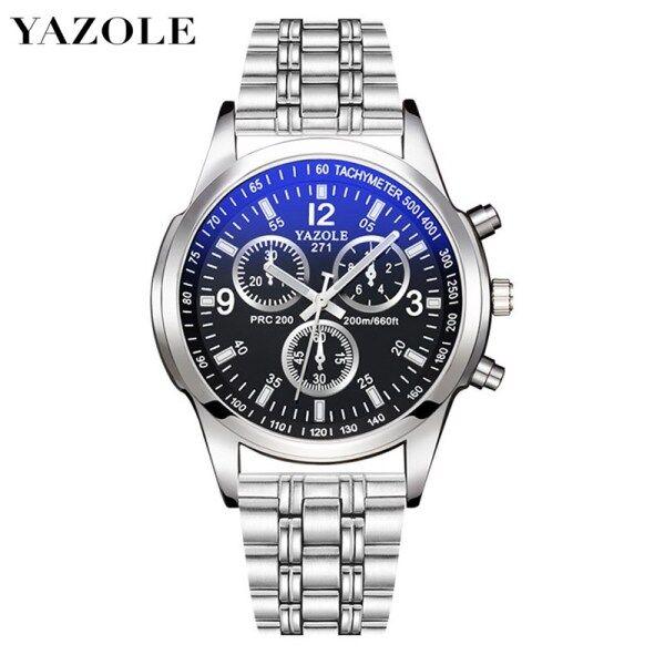 YAZOLE 271X Top Luxury Brand Watch For Man Fashion Sports Men Quartz Watches Trend Wristwatch Gift For Male jam tangan lelaki Malaysia