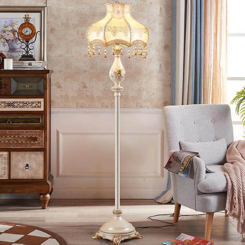 High-end European Luxury Creative Floor Lamp for Living Room Bedroom Study Room