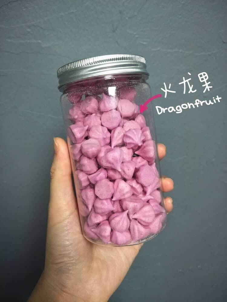 Baby Vege/ Fruits Melt, Snack (Dragon Fruits Flavor)