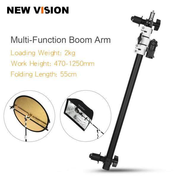 Giá đỡ ambitful Bộ phản xạ đầu xoay Bao cát nhẹ hỗ trợ cánh tay đĩa Cho đèn flash nhỏ Speedlite nhấp nháy