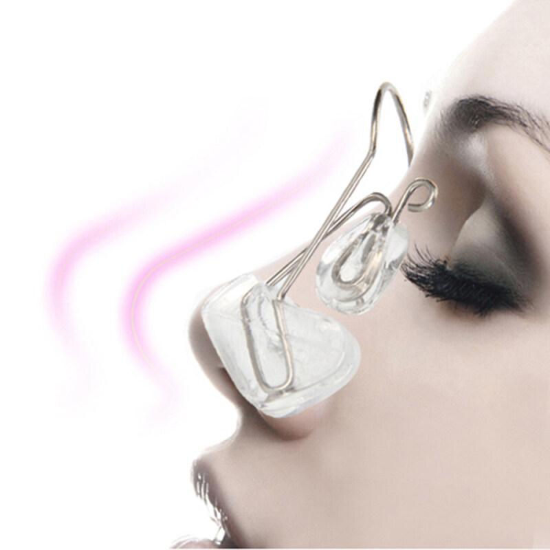 1 * Sức Khỏe Silicone Nâng Định Hình Cầu Thẳng Corrector Massage Công Cụ Mũi Clip Clipper Mũi Shaper