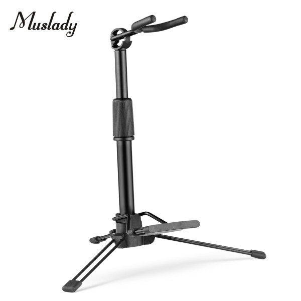 Muslady Foldable Digital Wind Instrument Stand Adjustable Metal Aerophone Holder Musical Instrument Stand Malaysia
