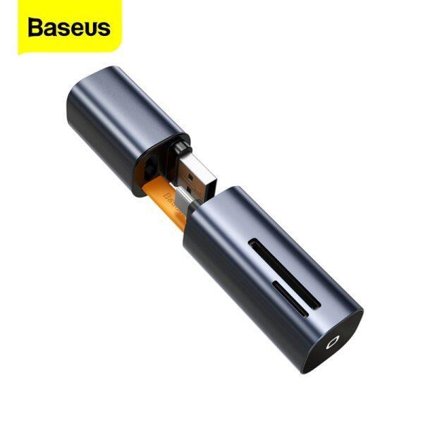 Bảng giá Đầu Đọc Thẻ Baseus 2 Trong 1, Đầu Chuyển Đổi USB 3.0 Loại C Sang SD, Micro SD TF Cho Máy Tính Xách Tay, Đầu Đọc Thẻ Nhớ OTG Phong Vũ