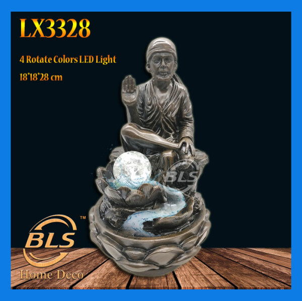 WATER FOUNTAIN - BABA LX3328 FENG SHUI WATER FEATURE HOME DECO