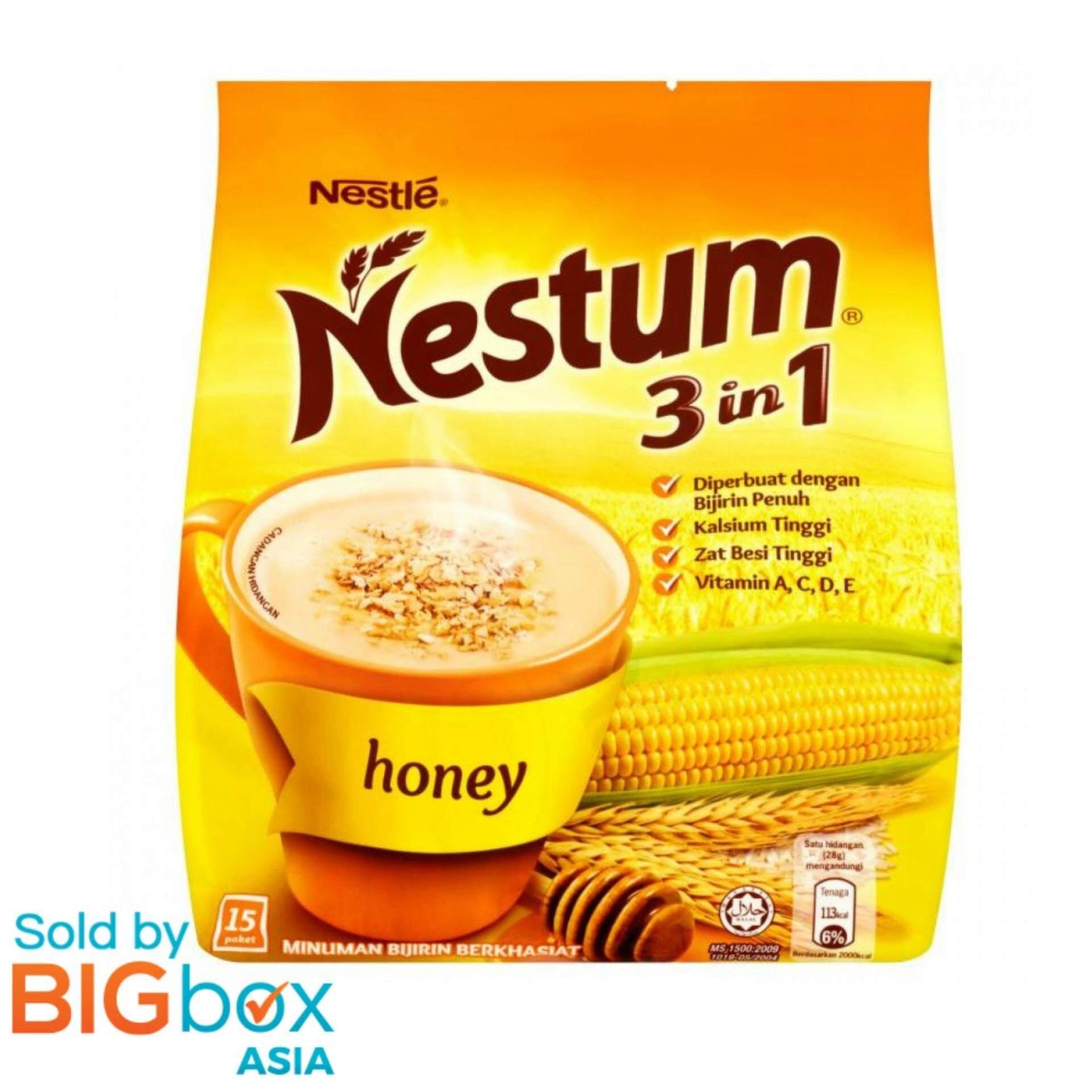 Nestle Nestum 3 In 1 Honey 15 X 28g - Malaysia By Bigbox Asia.