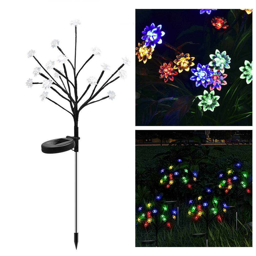 LED Solar Power Tree Light Garden Outdoor Yard Lawn Landscape Lamp Decor Solar Light Outdoors Garden Wedding Decoration