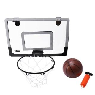 Mini Basketball Hoop With Ball 18 inch x12 inch Shatterproof Backboard thumbnail