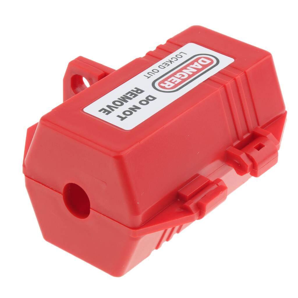 Dolity Lockout Tagout Electrical Plug Lockout Plastic