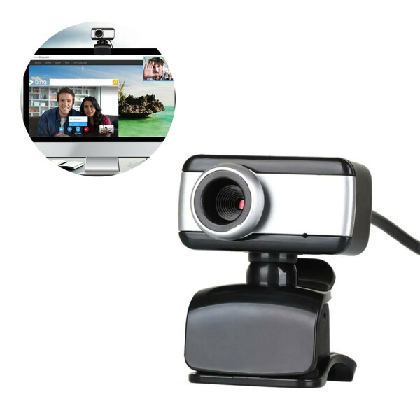 KOVOL Store Rotatable USB2.0 HD Webcam Camera  With Microphone For PC Laptops Computer Desktop