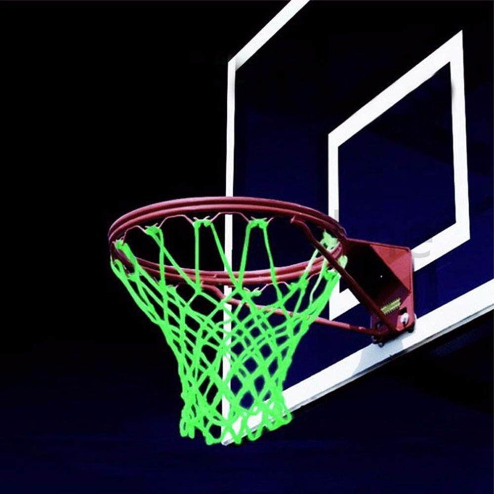 Niceeshop Basketball Hoop Net Glow In The Dark Outdoor Sports Nylon Glowing Basketball Hoop Rim Net All Weather Thick Replacement Standard Size Net By Nicee Shop.