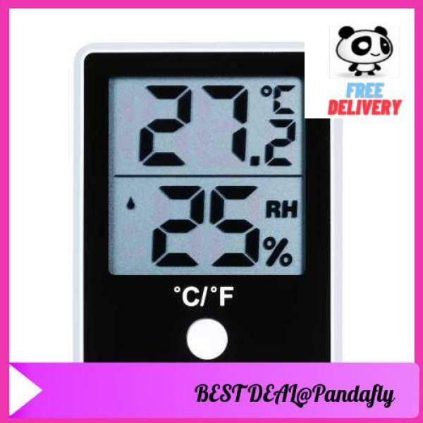 POPULAR PRODUCT KKmoon Dual Temperature Humidity Meter LCD Digital Indoor Thermometer Hygrometer Magnetic Temperature Meter Humidity Gauge ℃/℉ Switchable Thermo-Hygrometer (Standard)