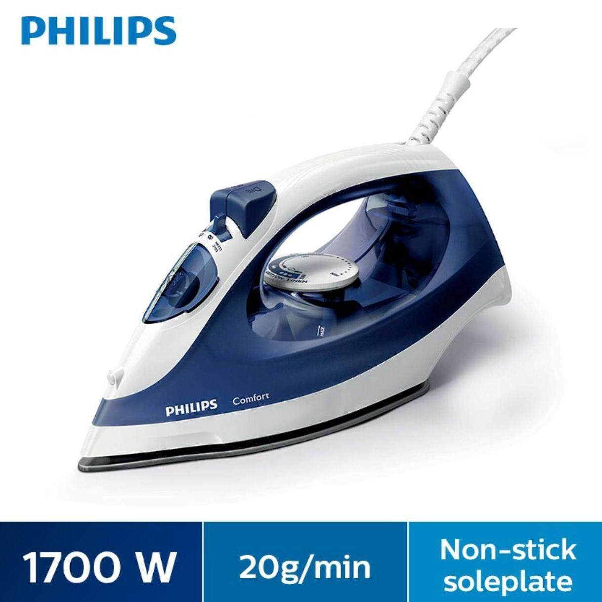 Philips Steam Iron Gc1430/20 By Lazada Retail Tech-Mall.
