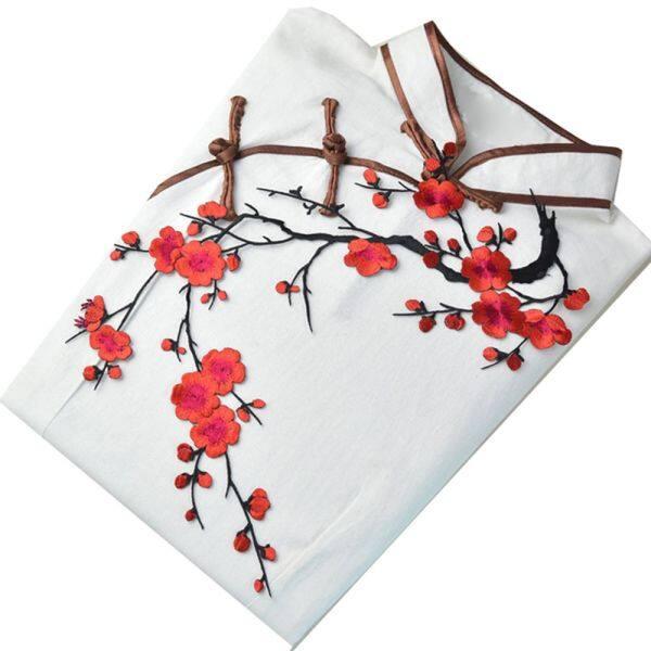 Bảng giá Dành cho quần áo Phụ kiện thủ công Miếng vá thêu vá vá may vá vá vá may vá vải tự làm Miếng đính hoa mận Điện máy Pico