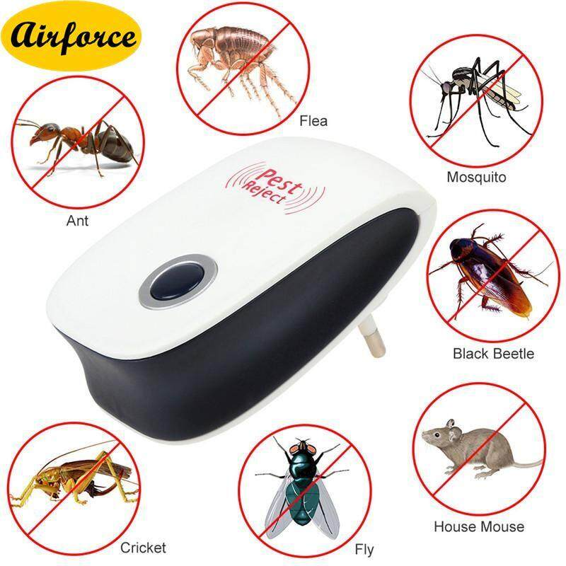 Airforce Ultrasonic Mosquito Repeller Dispeller Pest Electronic Indoor Anti Rat Kitchen Bedroom Use Mice Insect Pest Bug Control Repeller