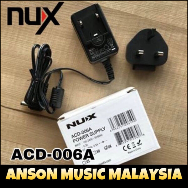 NUX ACD-006A Switching Power Adapter Malaysia