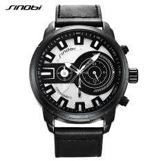 【Hotcmy Store】Đồng hồ nam SINOBI Thương hiệu hàng đầu Sang trọng không thấm nước phát sáng Đồng hồ đeo tay thạch anh Nhật Bản Người đàn ông thời trang da thể thao Đồng hồ nam