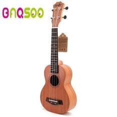 BAQSOO Đàn Concert Ukulele, Chuyên Nghiệp Soprano Ukulele Gỗ Mahogany Sơ Khai Ukuleles Hawaii Acoustic Guitar Mini Dụng Cụ Âm Nhạc Dành Cho Người Mới Bắt Đầu, trẻ Em, Bộ Khởi Động