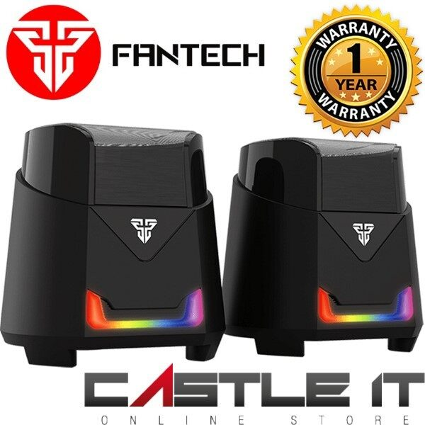 FANTECH GS205 HELLSCREAM 45MM DRIVER UNIT HIGH RES AUDIO RGB LIGHTING & GAMING SPEAKER BASS RESONANCE MEMBRANE Malaysia
