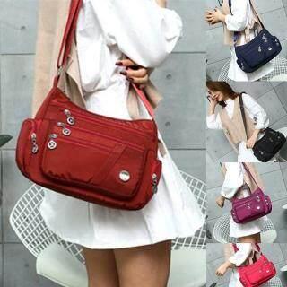 Túi đeo chéo nhiều ngăn phù hợp cho các bà mẹ và phụ nữ tuổi trung niên (kích thước 27 11 22 cm) - INTL thumbnail