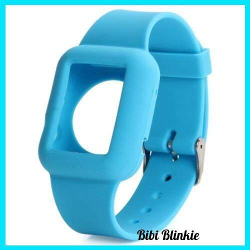 [PRE-ORDER] 42MM SOLID COLOR SILICONE MATERIAL WATCHBAND WITH BUCKLE CLASP FOR APPLE WATCH (BLUE)