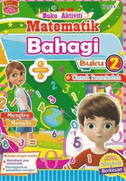 Siri Mawar Buku Aktiviti Matematik Bahagi Buku 2 (Saiz A5) Malaysia