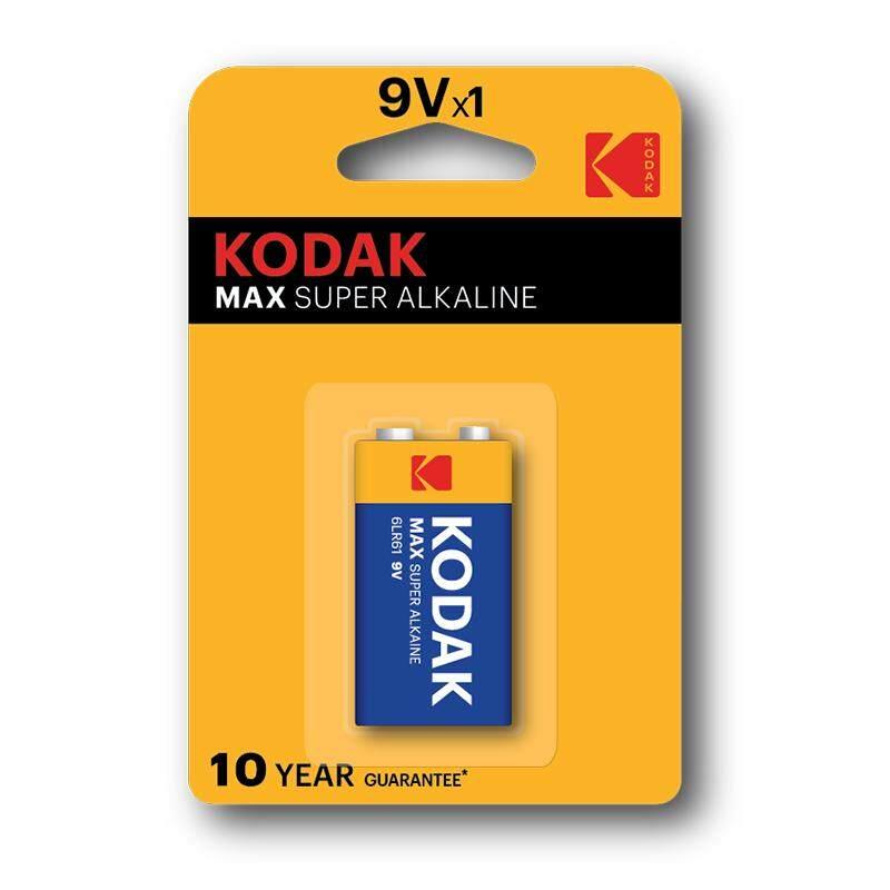 Kodak MAX K9V-1 9V Alkaline Batteries Malaysia