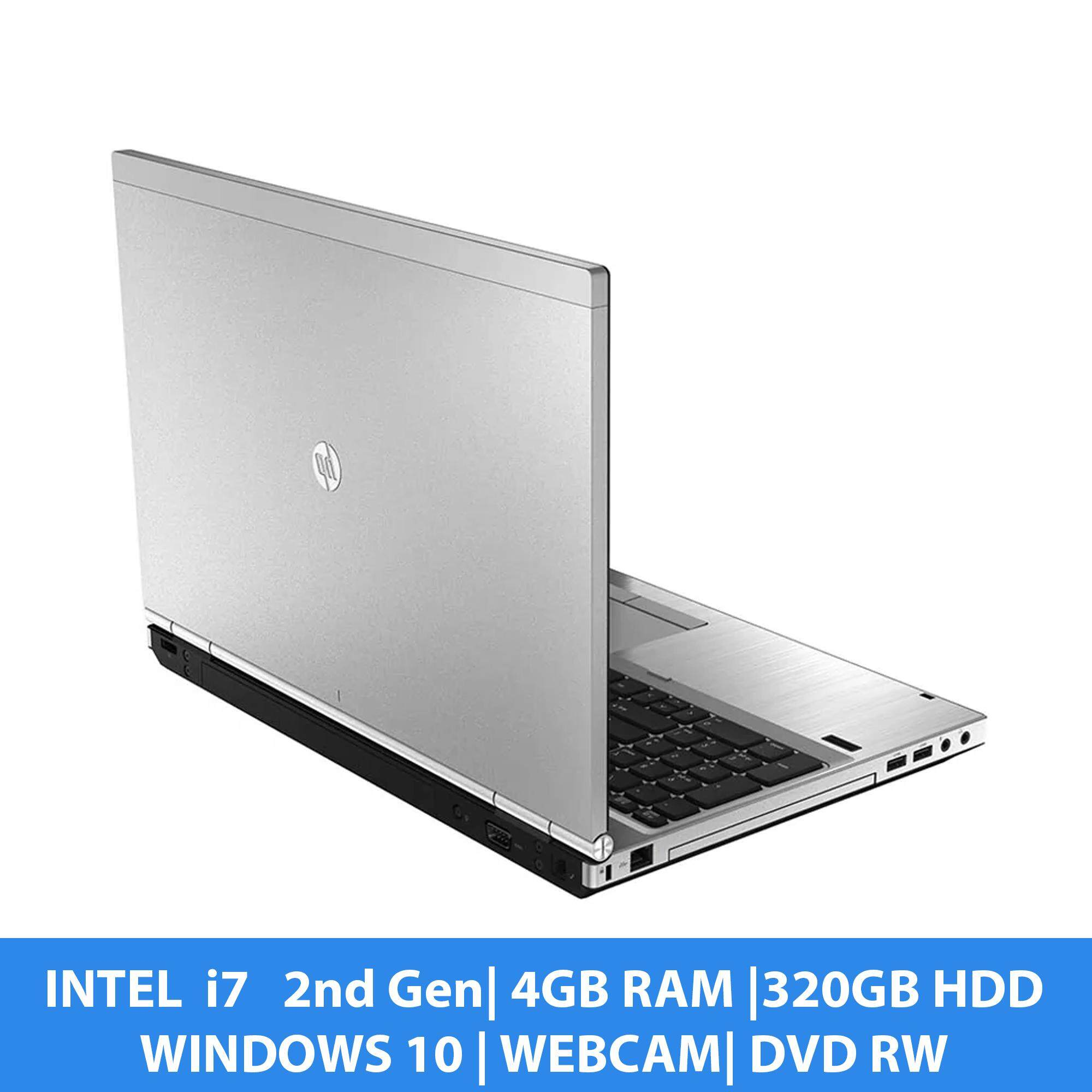 HP i5 Laptop 8460p - i7 2nd Gen, 4GB RAM, 320GB HDD, WebCam Wifi, Office Installed, Free items, 3 months Warranty 100% Original - refurbished Malaysia