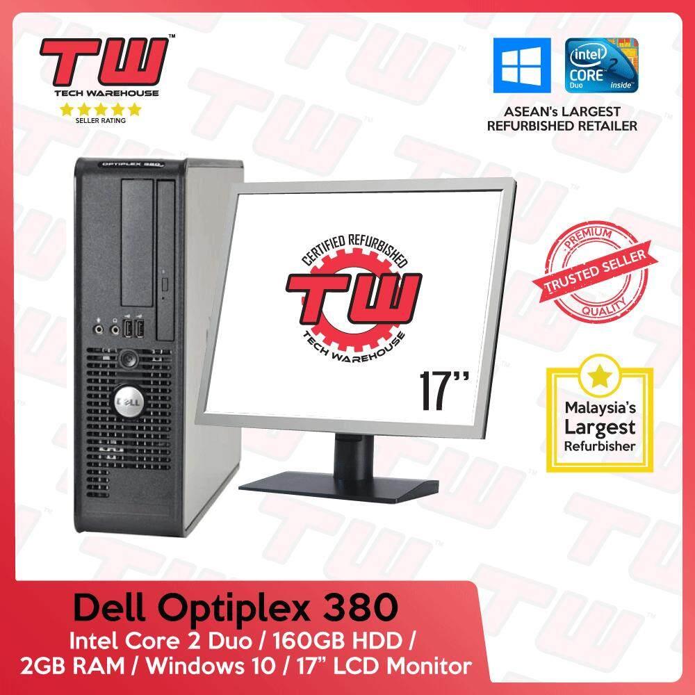 Dell Optiplex 380 C2D 3 0 / 2GB RAM / 160GB HDD / Windows 10 Home (SFF)  Desktop PC / 17