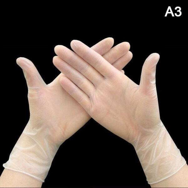 100PCS Disposable Food Plastic Gloves Kitchen Accessories for Restaurant BBQ