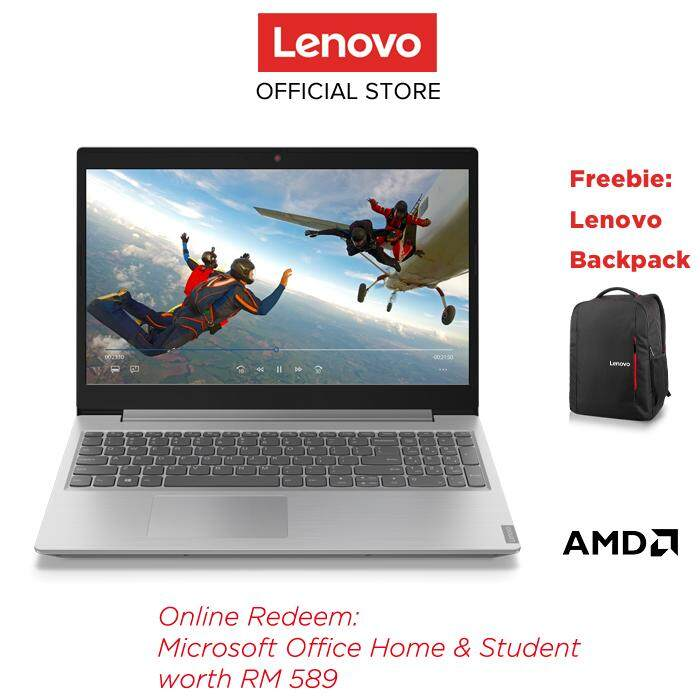 Lenovo Ideapad L340 15api 81lw0042mj Platinum Grey 15 6 Amd Ryzen 3 3200u 4gb 1tb Integrated W10home Free Lenovo 15 6 Premium Backpack