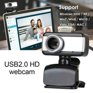 Webcam USB2.0 HD Xoay Được Máy Ảnh 1080P Kèm Micro Dành Cho Máy Tính Xách Tay PC Phụ Kiện Không Dây Bluetooth Để Bàn New 2020 thumbnail