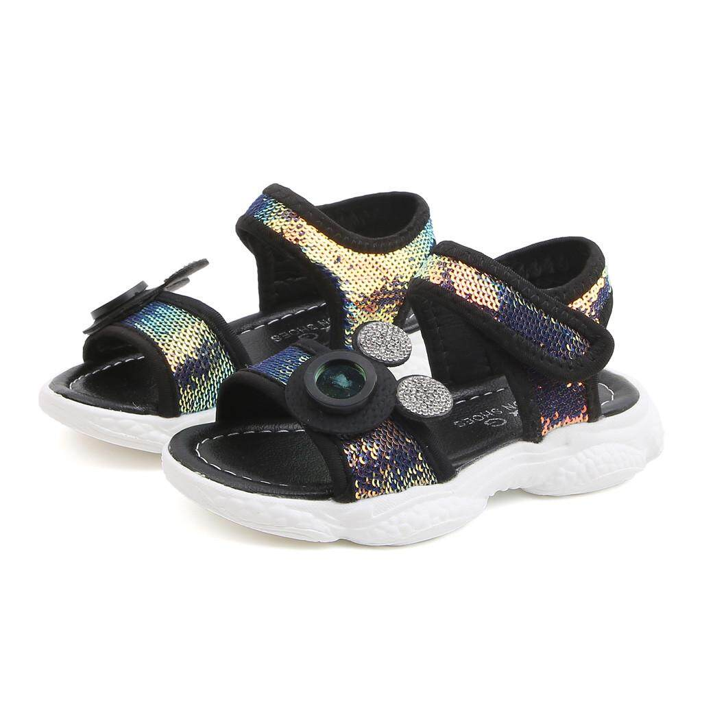 83cce7cb8a7b viviroom-Toddler Infant Kids Baby Boys Girls Sequins Bling Sports Shoes  Sneakers Sandals