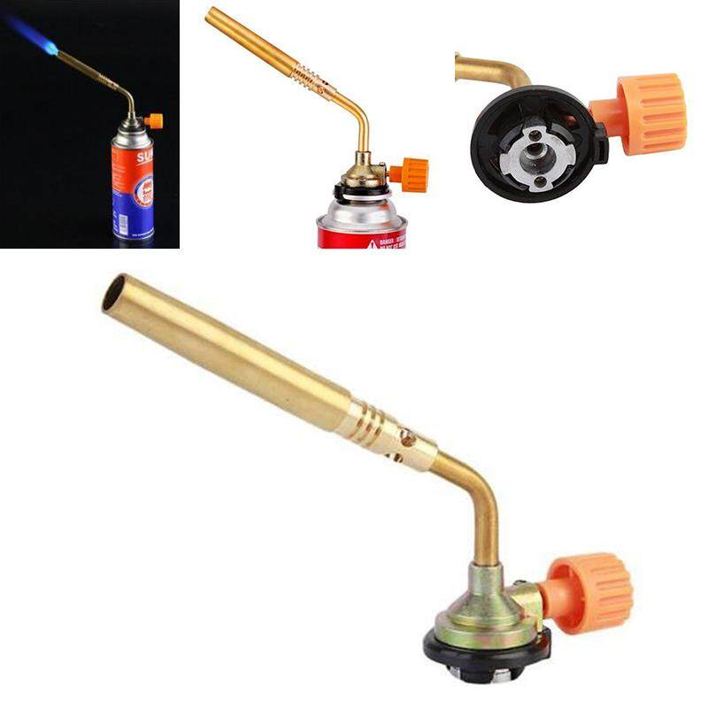 New But ane Bur ner Welding Outdoor Camping Picnic BBQ Brazing Ga s Torch L ighter