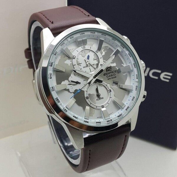 Special Promotion Royal Watch Leather Strap Casio_Edifice Watch For Men Malaysia