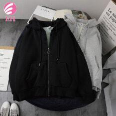 EH.Áo khoác len cừu lông cừu dày cỡ lớn Phiên bản Hàn Quốc