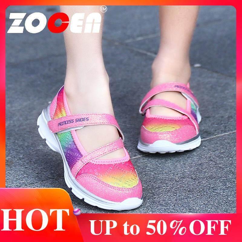 ZOCEN Giày Trẻ Em Giày Bé Gái Giày Lưới Thoáng Khí, chống trơn trượt Giày Thời Trang cho Bé Gái