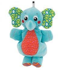 Elephant Musical Pullspring Plush By Anakku Sdn. Bhd.