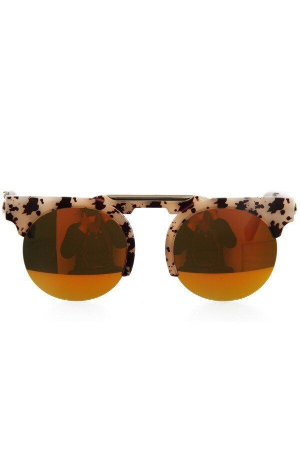 98525cb64f Fashion Women Semi - Rimless Sunglasses Vintage Ladies Leisure Sun Glasses  Summer Beach UV Protection Goggle EyewearRM58.00