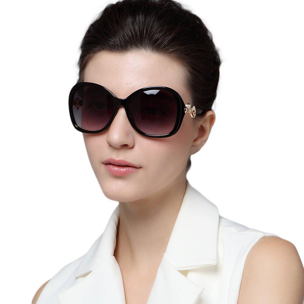 e0a92eaff0 Fashion Women Semi - Rimless Sunglasses Vintage Ladies Leisure Sun Glasses  Summer Beach UV Protection Goggle EyewearRM58.00. RM58.00