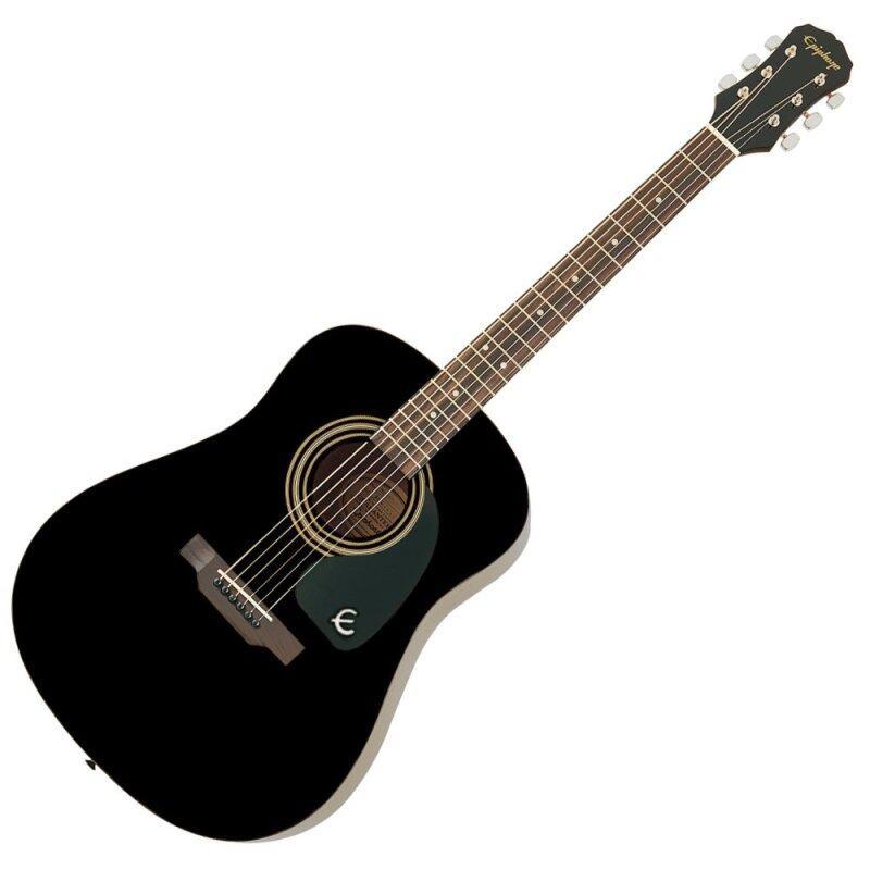 Epiphone DR-100 Acoustic Guitar (Ebony) Malaysia