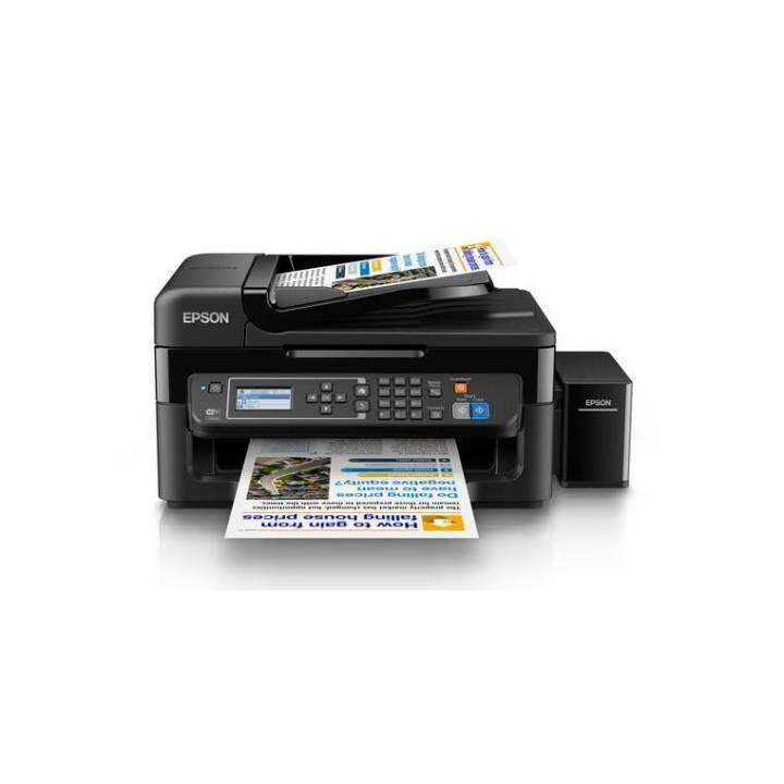 Epson L565 Print Scan Copy Ethernet Fax With 30 Sheet