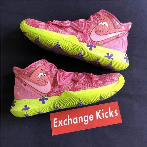 Nike_Kyrie 5 X SpongeBob Patrick Bintang Kepala Custom