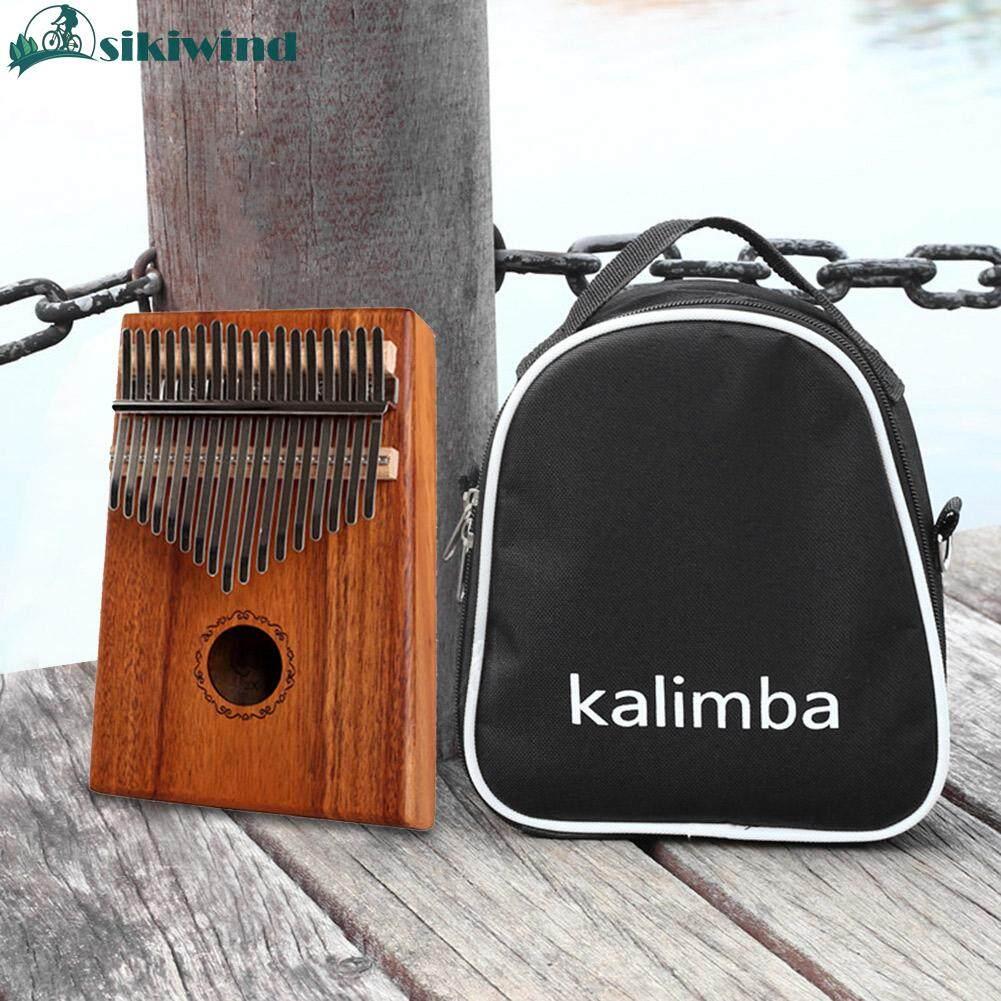 17 Phím Kalimba Gỗ Acacia Ngón Tay Cái Đàn Piano Mới Bắt Đầu Dụng Cụ Âm Nhạc Với Chỉnh Búa Túi Vải