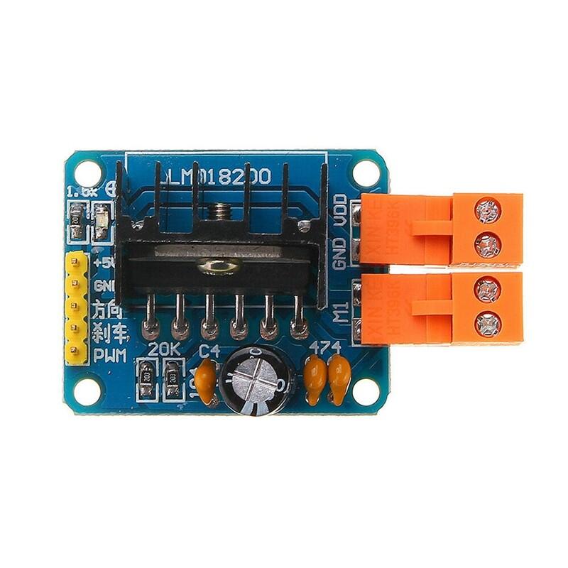 Lmd18200 Car Dc Motor Driver Module H-Bridge Electronic Component