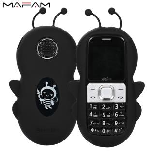 MAFAM Điện Thoại Di Động Sinh Viên 2G GSM Hình Con Ong Mới 2021, Điện Thoại Di Động MP3 Quay Số Tốc Độ Giọng Nói Ma Thuật Hai SIM 1.44Inch Tuổi Thọ Pin Dài thumbnail