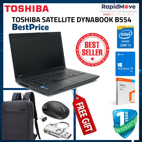 Toshiba B554  Intel core i3 4th gen For Students & Office Special + FREE GIFT (ON SALE) Malaysia