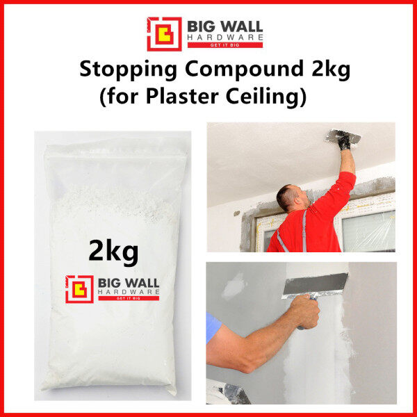 2kg Stopping Compound ( Plaster Ceiling ) Big Wall Hardware