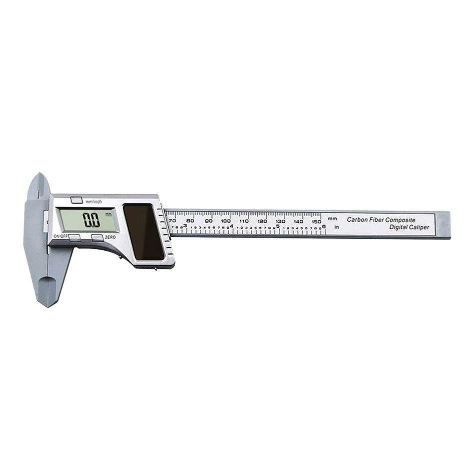 Cozy 0-150MM Solar Power Electronic Digital Vernier Calipers Ruler Measuring Tools